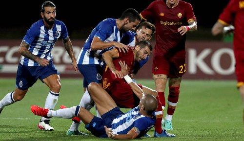 Pepe und Henrikh Mkhitaryan geraten aneinander: Heftige Auseinandersetzung beim Testspiel zwischen dem FC Porto und der AS Rom