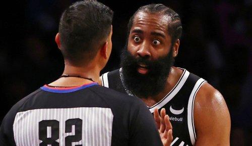 NBA News: James Harden von den Brooklyn Nets sieht sich von den Referees unfair behandelt