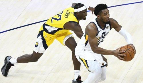 NBA: Utah Jazz mit Comeback-Erfolg gegen Indiana Pacers - Knöchelverletzung bei Donovan Mitchell