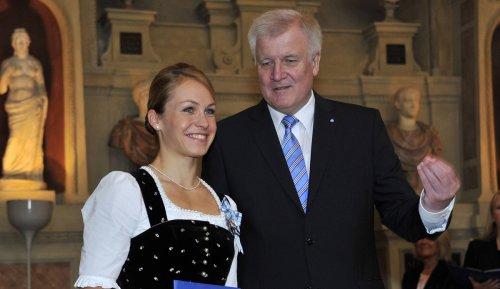 Magdalena Neuner verrät: Horst Seehofer erkannte mich nicht