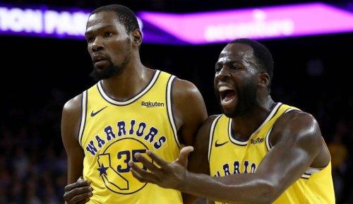 """NBA News - Draymond Green über Streit mit Kevin Durant: """"Er hatte mich blockiert"""""""