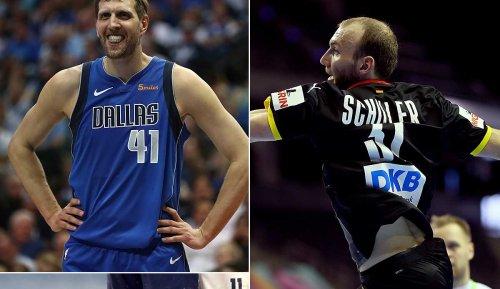 NBA-Star Nowitzki rührte Handballer Schiller zu Tränen