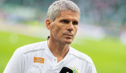 Damir Canadi: Trainer von Rapid zu sein, tut etwas mit einem Menschen
