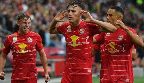 Red Bull Salzburg schlägt den FC Barcelona mit Yusuf Demir