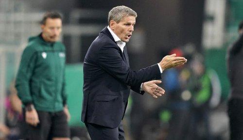 Rapid-Trainer Dietmar Kühbauer: Andere haben einen breiteren Kader