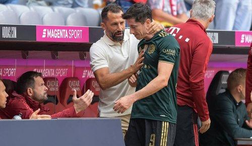 FC Bayern, News und Gerüchte: Robert Lewandowski offenbar verärgert über Salihamidzic-Aussagen