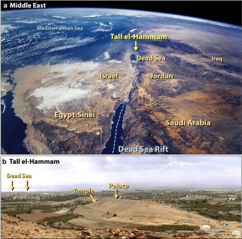 A Tunguska sized airburst destroyed Tall el-Hammam a Middle Bronze Age city in the Jordan Valley near the Dead Sea - Scientific Reports