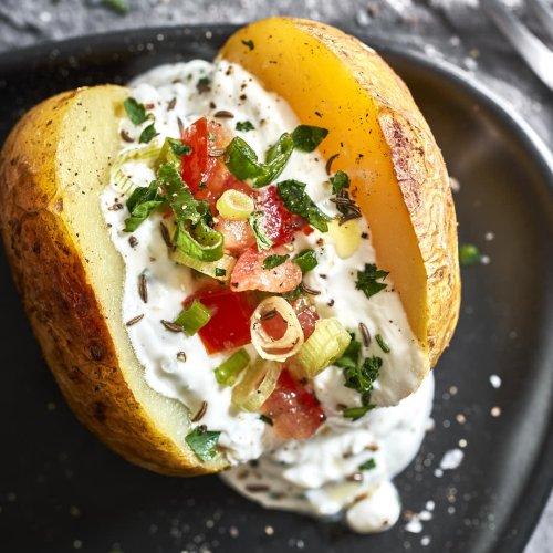 Grillkartoffeln – vegan