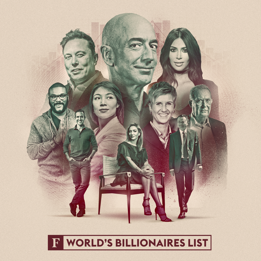 Billionaires 2021 - cover