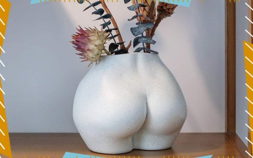 Are Butt Vases the New Boob Pillow? The 8 Booty-ful Vases We're Obsessed With Right Now