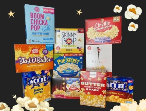 I Tried 10 Different Kinds of Microwave Popcorn Because I Really Miss Movie Theater Popcorn. Here's My Ranking.