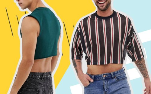 The Return of Men's Crop Tops & Why You Need a Few Before Summer 2021