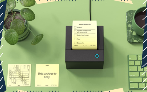 Amazon Is Making a Sticky Note Printer That's Powered by Alexa (And It Looks Kind Of Amazing)