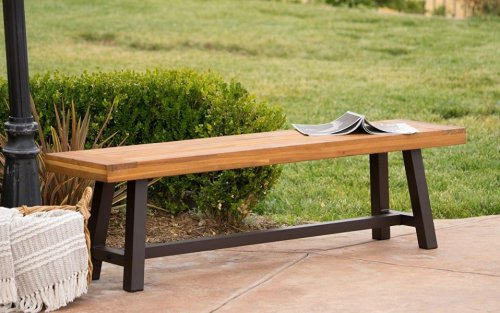 The Best Outdoor Benches To Buy Right Now