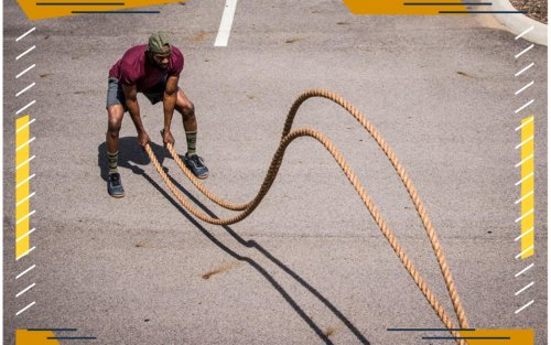 Swing Your Way to Stronger Tone and Lean Mass With These Battle Ropes