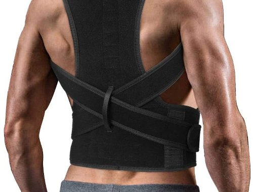 Look Taller and Relieve Back Pressure With a Back Brace Posture Corrector