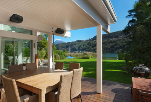 Take Your Backyard BBQ To The Next Level With These Outdoor Speakers