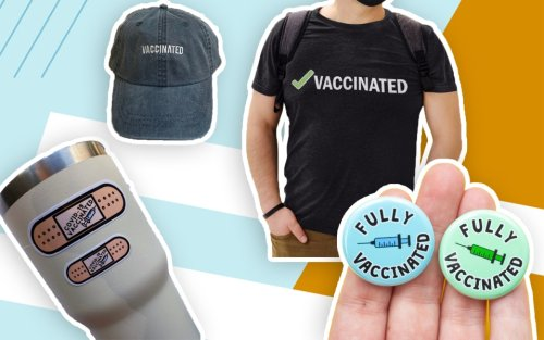 After You Hug Your Grandma and Plan a Trip, Celebrate Inoculation With This COVID Vaccine Merch