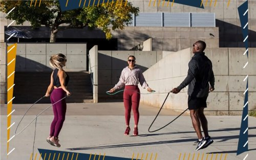 Jump Up and Slim Down With These Top-Rated Weighted Jump Ropes