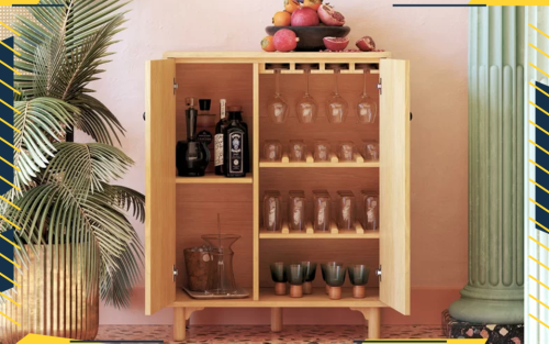 Contain Your Booze In One Of These Stylish Liquor Cabinets