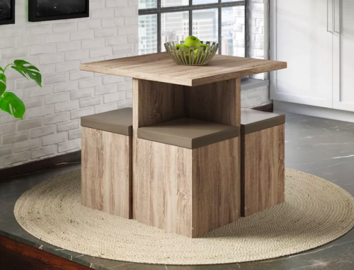 These Space-Saving Dining Sets Are The Ultimate Small Home Living Hack