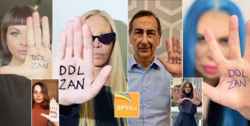 """#DiamociUnaMano, le celebrity insieme per l'approvazione del Ddl Zan: """"Diamo a tutti noi un mondo migliore"""""""