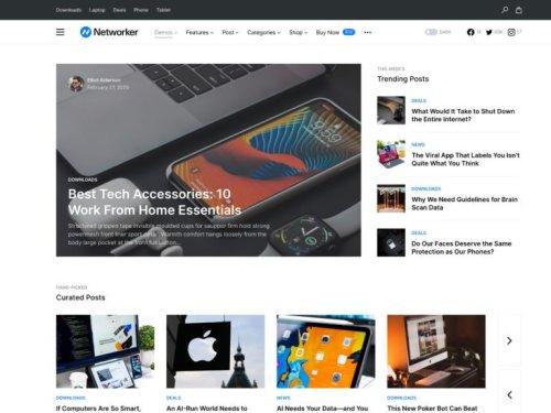 10+ Best WordPress Themes for Tech Blogs 2021 – aThemes