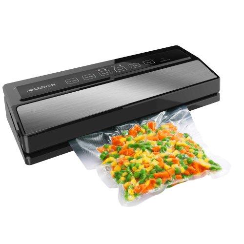 Vacuum sealer keeps food fresh, longer