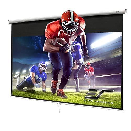 Elite Screens pull-down projector screen