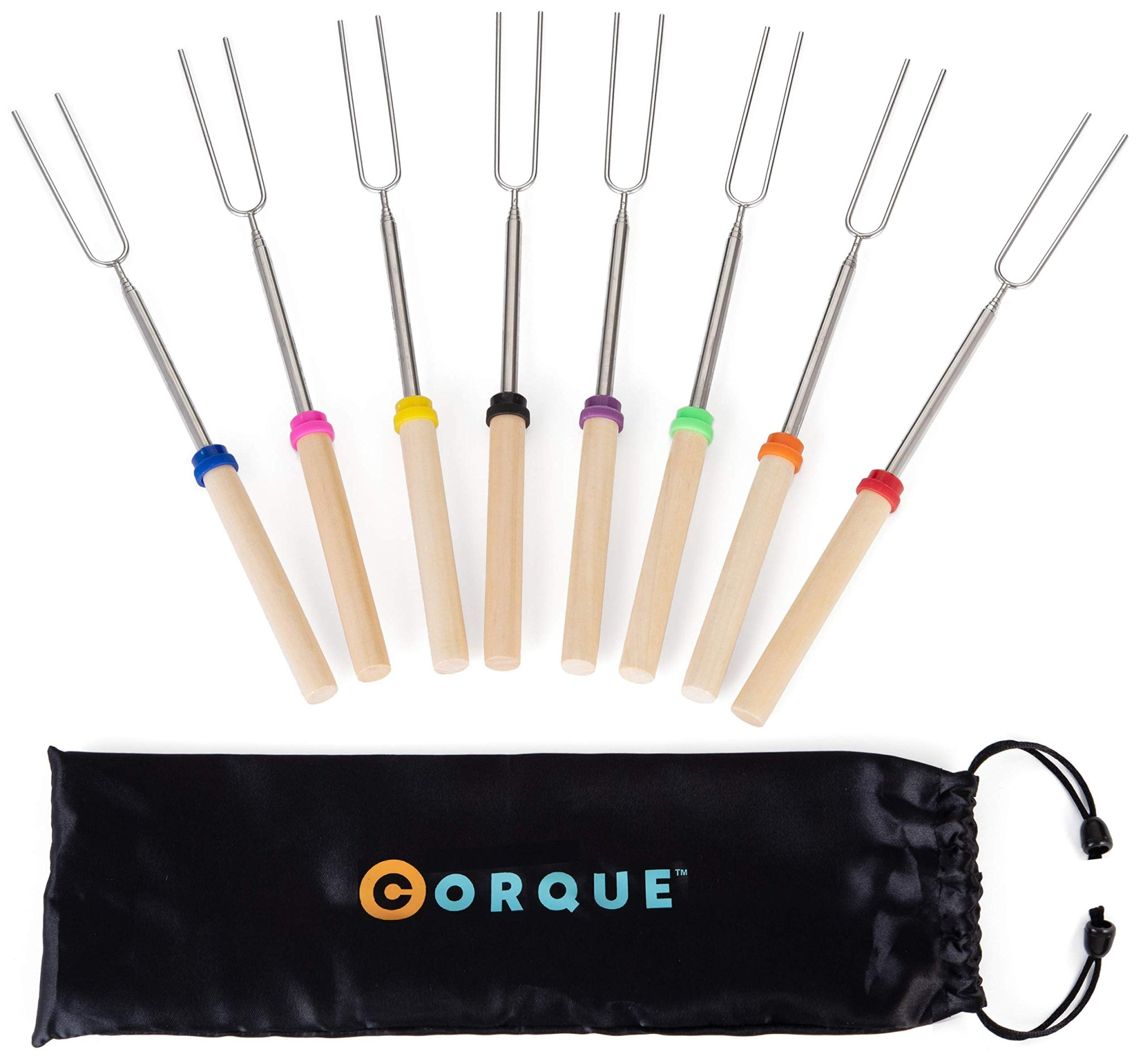 Extendable camping skewers