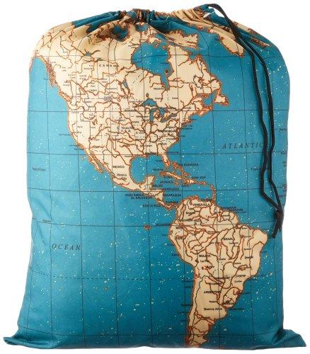 Kikkerland Travel-Size Laundry Bag