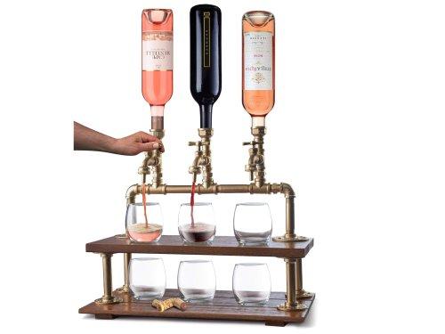 Handcrafted Wine and Liquor Dispenser