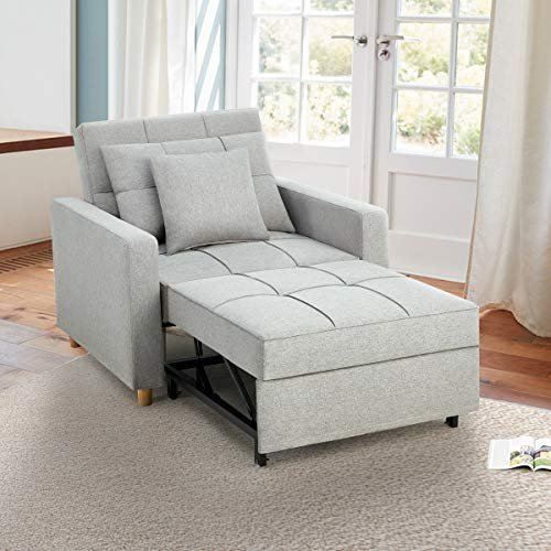 3-in-1 convertible sofa bed