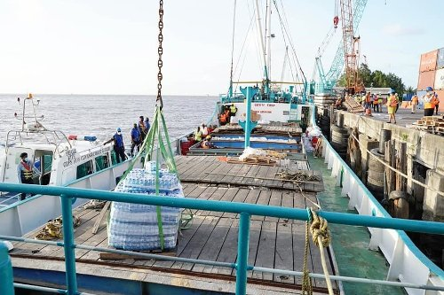 Third relief shipment for St Vincent - -Barbados to also get water tanks, bottled water