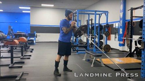 The Landmine: An Athletes Best Friend