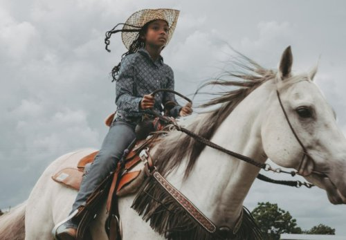 An 11-Year-Old Black Cowgirl Made Her Mark At First Televised Black Rodeo