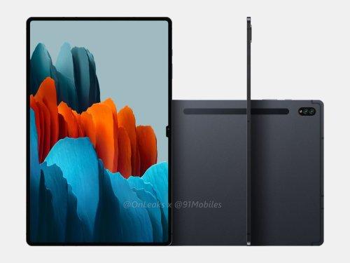 Samsung Galaxy Tab S8 Ultra: Tablet soll eine Display-Aussparung haben