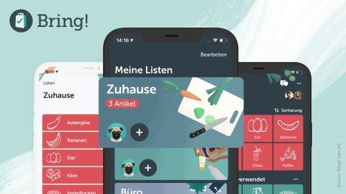 Einkaufs-App Bring! erhält Re-Design und mehr Anpassungsoptionen