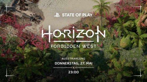 """""""Horizon Forbidden West"""": Sony zeigt Gameplay am 27. Mai 2021"""
