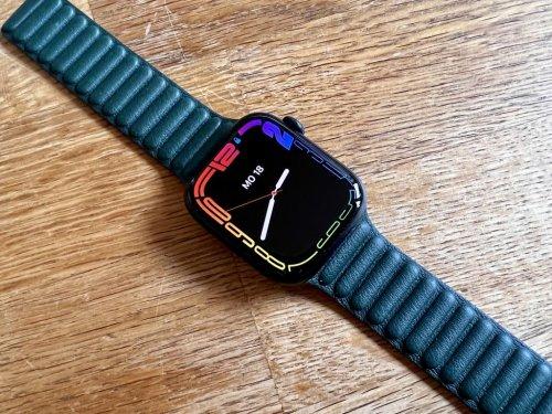 Apple Watch Series 7 im Test: Großes Display und kleine Details