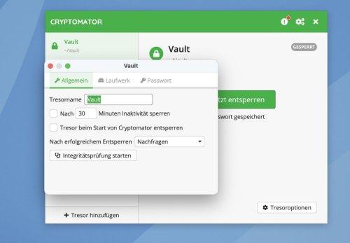 Verschlüsselungssoftware Cryptomator 1.6.0 erschienen