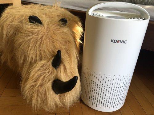 Durchatmen für Allergiker und Frische-Luft-Fans: Gewinnt einen KOENIC Luftreiniger KAP 2521