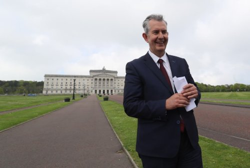 Incoming DUP leader Edwin Poots vows to unite unionism and defeat NI Protocol