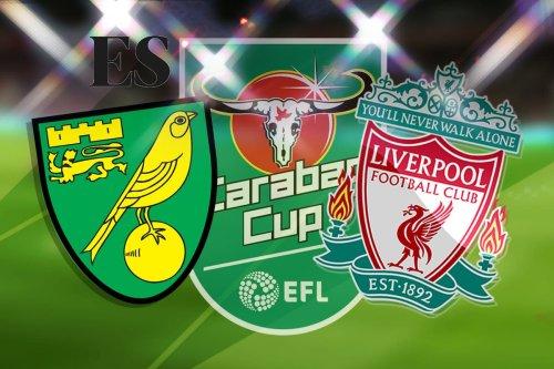 Norwich vs Liverpool: Carabao Cup - LIVE!