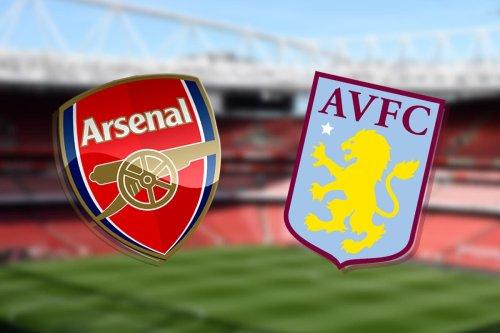 Arsenal vs Aston Villa: Premier League - LIVE!