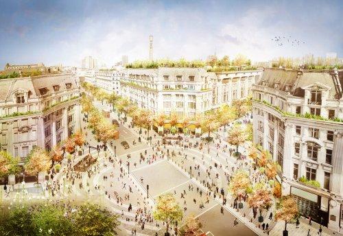 Oxford Street's green renaissance as radical new plans revealed