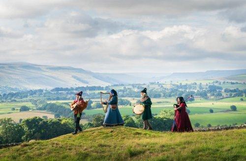 Medieval music festival returns to castle after pandemic break
