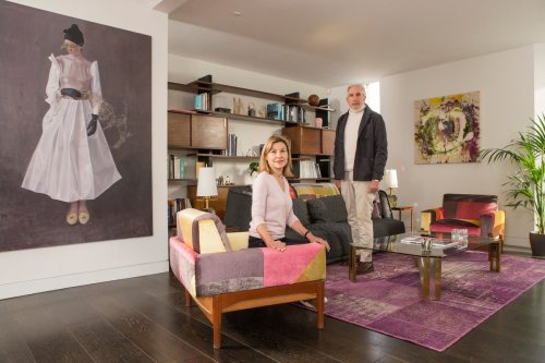 Why one couple traded their large family house for a central London flat