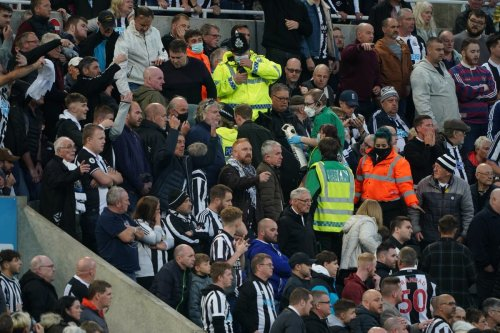 Newcastle United fan whose collapse stopped Premier League game 'doing well'