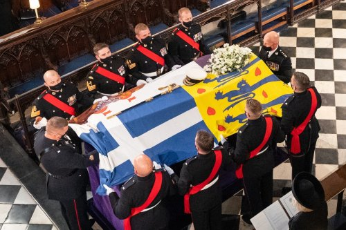 Why Prince Philip's coffin being lowered into the Royal Vault was a historic moment